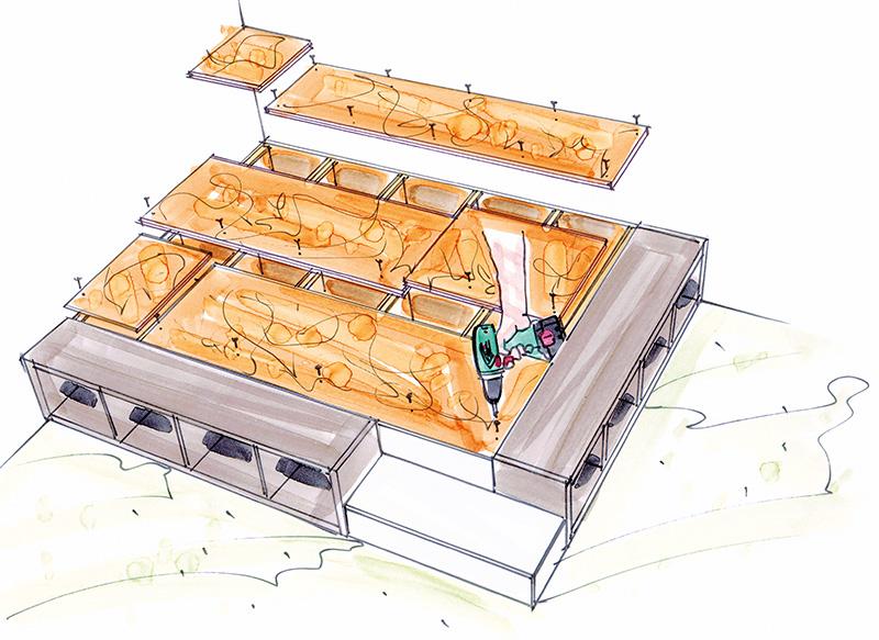 Stauraum-Wunder: Ein Podest selber bauen - Mein Eigenheim
