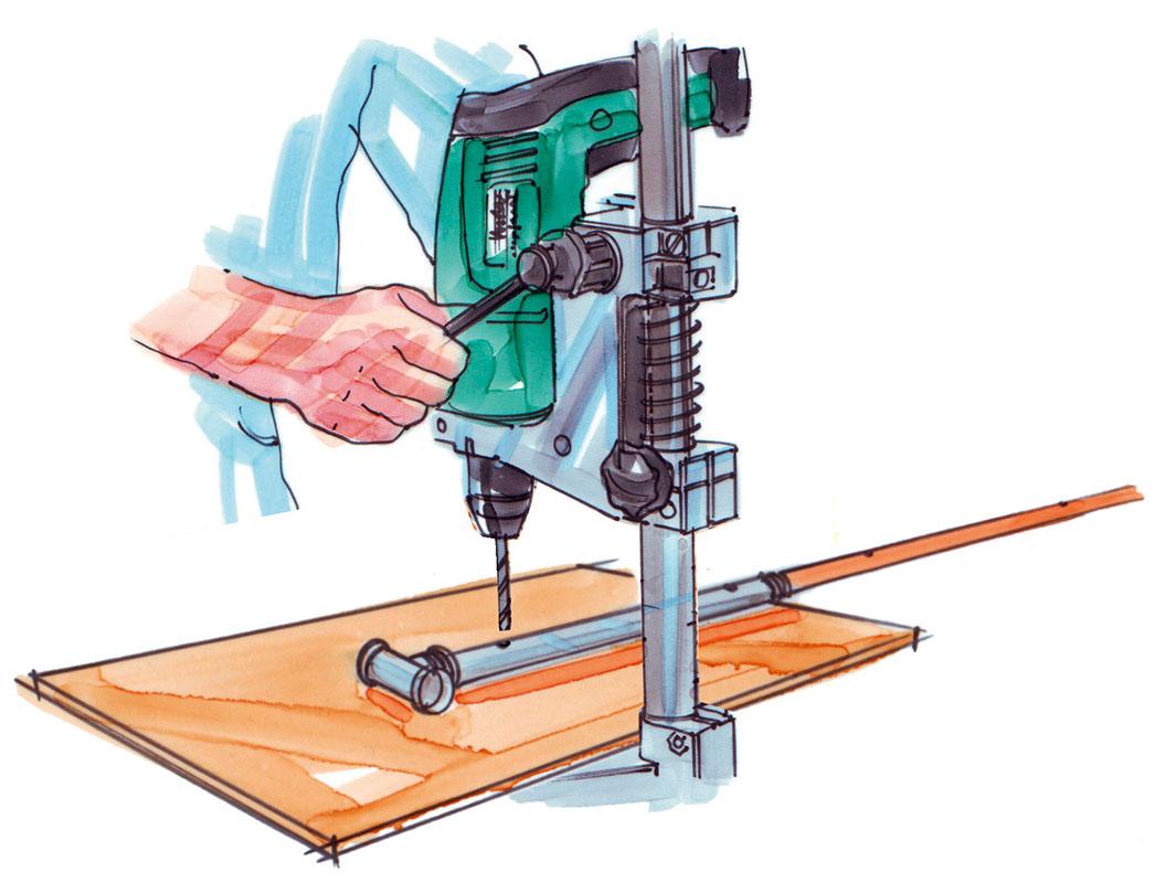 Bauanleitung: Flexibler Raumteiler aus Holz - Mein Eigenheim